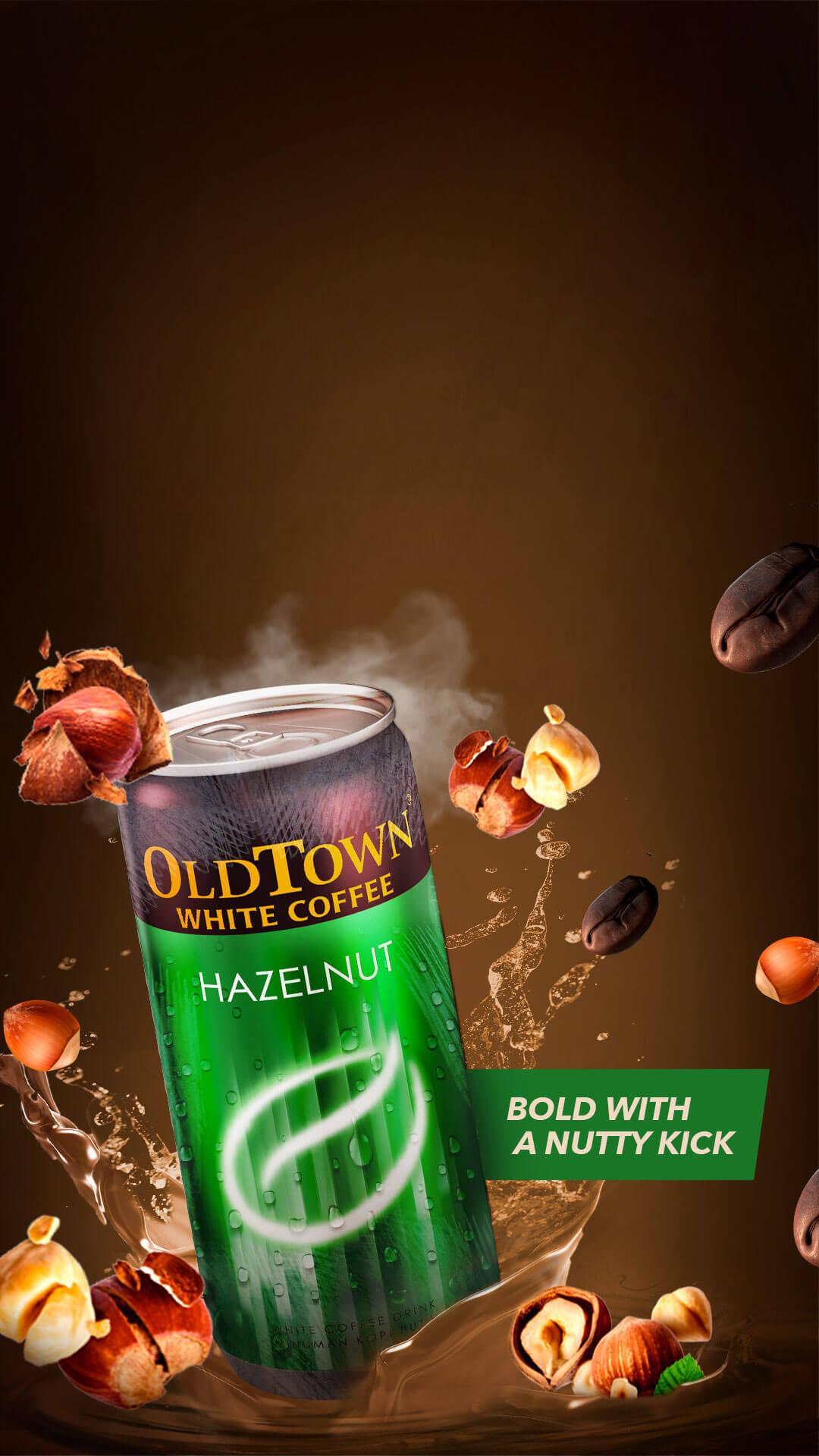 mobile version hazelnut flavor slider image